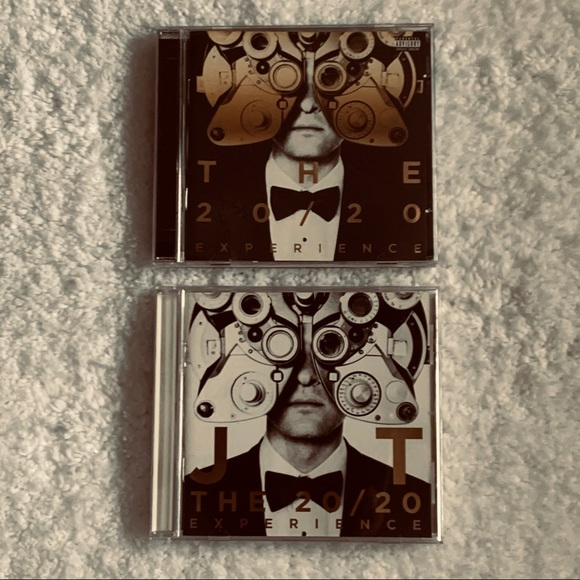 Justin Timberlake the 20/20 complete set